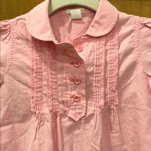 Crewcuts pretty Pink Blouse sz Medium